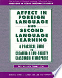 Affect in foreign language and second language learning