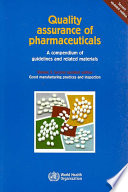 Quality Assurance of Pharmaceuticals Book