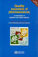 Quality Assurance of Pharmaceuticals