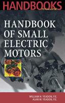 Handbook of Small Electric Motors Book