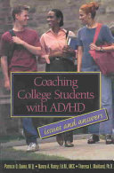 Coaching College Students with AD HD