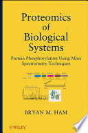Proteomics of Biological Systems Book