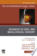 Advances in Oral and Maxillofacial Surgery E Book Book