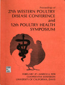 Proceedings Of Western Poultry Disease Conference And Poultry Health Symposium Book PDF