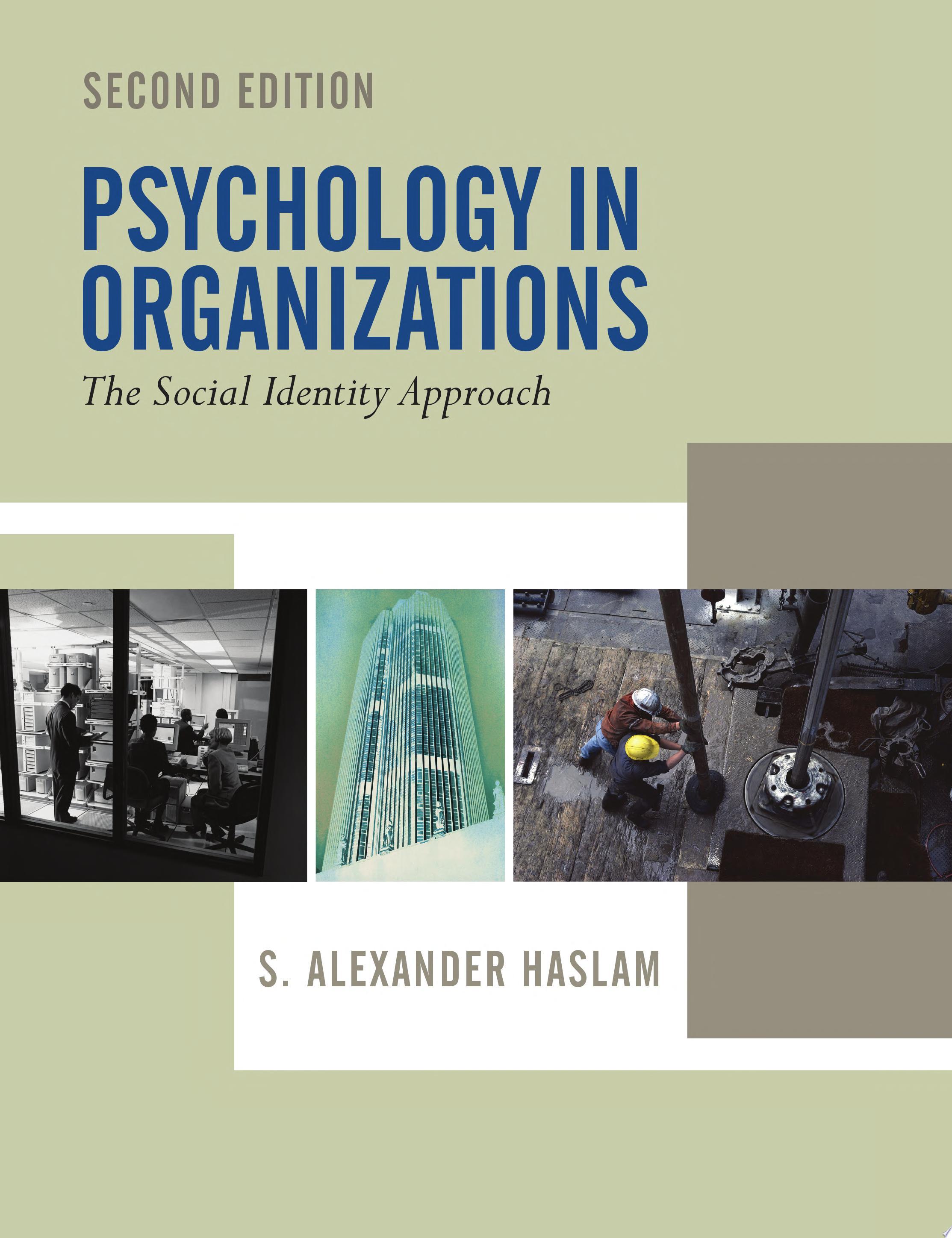 Psychology in Organizations