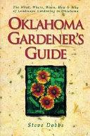 Oklahoma Gardener s Guide