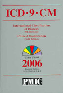 International Classification of Diseases  9th Revision  Clinical Modification  6th Edition  2006