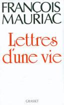 Pdf Lettres d'une vie (1904-1969) Telecharger