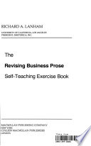 The Revising Business Prose Self-Teaching Exercise Book