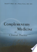 Complementary Medicine In Clinical Practice Book PDF