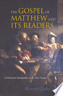 The Gospel Of Matthew And Its Readers Book PDF