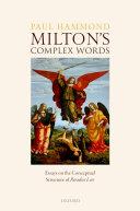 Milton's Complex Words [Pdf/ePub] eBook