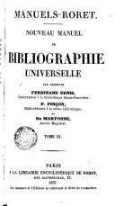 Nouvean Manuel de Bibligraphie Universelle, 3