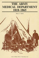 The Army Medical Department 1818 1865