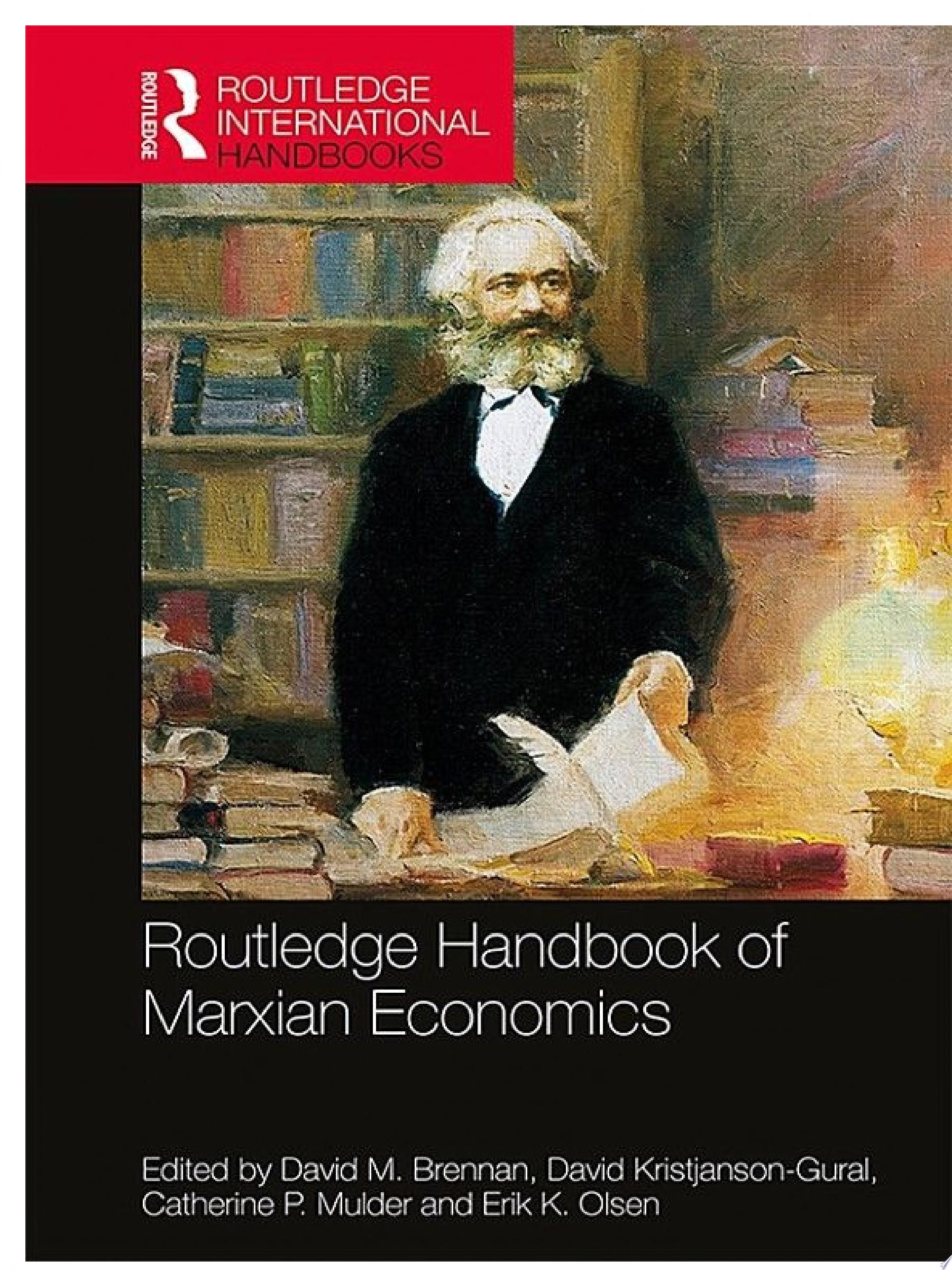 Routledge Handbook of Marxian Economics