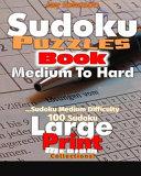 Sudoku Puzzle Book Medium to Hard