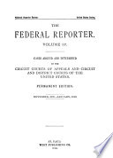 The Federal Reporter