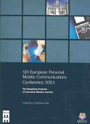 5th European Personal Mobile Communications Conference 2003