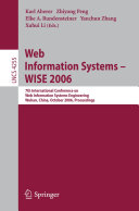 Web Information Systems   WISE 2006