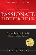 The Passionate Entrepreneur Book
