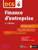 Finance d'entreprise - 3e édition