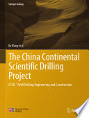 The China Continental Scientific Drilling Project Book