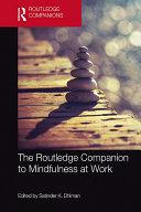The Routledge Companion to Mindfulness at Work Pdf/ePub eBook