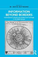 Pdf Information Beyond Borders Telecharger