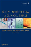 Wiley Encyclopedia of Clinical Trials