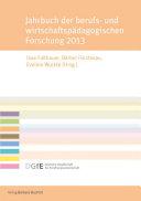 Jahrbuch der berufs- und wirtschaftspädagogischen Forschung 2013
