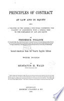 Principles of Contract Book