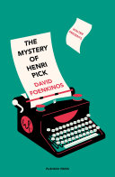 Pdf The Mystery of Henri Pick Telecharger