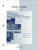 Statistical Techniques in Business and Economics Book