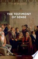 The Testimony of Sense