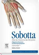 Sobotta, Atlas der Anatomie des Menschen Band 1: Allgemeine ...