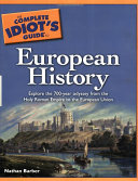 Pdf The Complete Idiot's Guide to European History Telecharger