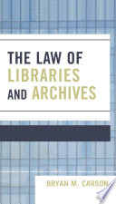 The Law Of Libraries And Archives Book PDF