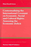 Contextualising The International Covenant On Economic, Social And Cultural Rights
