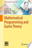 Mathematical Programming and Game Theory Book