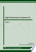High Performance Ceramics VII