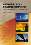 Sustainable Critical Infrastructure Systems