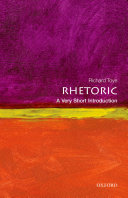 Rhetoric  A Very Short Introduction