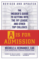 A Is for Admission Pdf