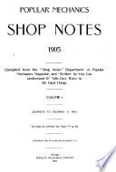"""Popular Mechanics Shop Notes"""