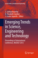 Emerging Trends in Science  Engineering and Technology