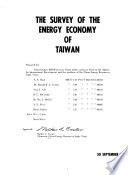 The Survey of the Energy Economy of Taiwan