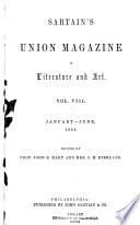 Sartain S Union Magazine Of Literature And Art Book PDF