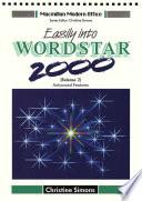 Easily Into Wordstar 2000 Advanced Figures