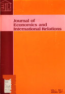 Journal of Economics and International Relations