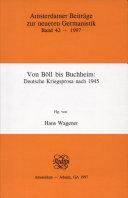 Von Böll bis Buchheim